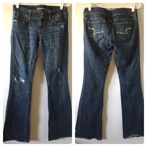 American Eagle Artist Distressed Stretch Jeans 4R